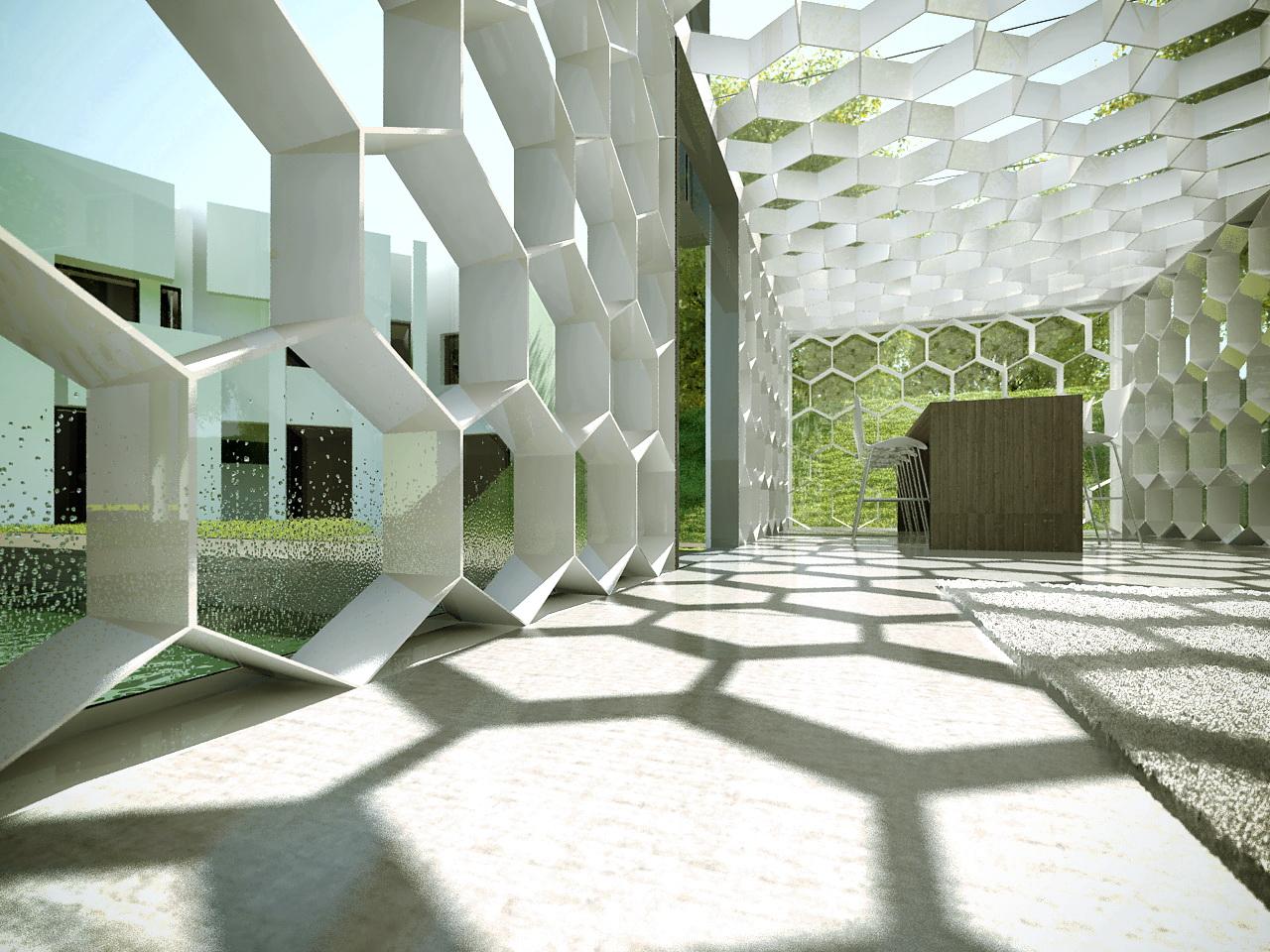 Architekturfoto Interior Marktcafe Miesbach