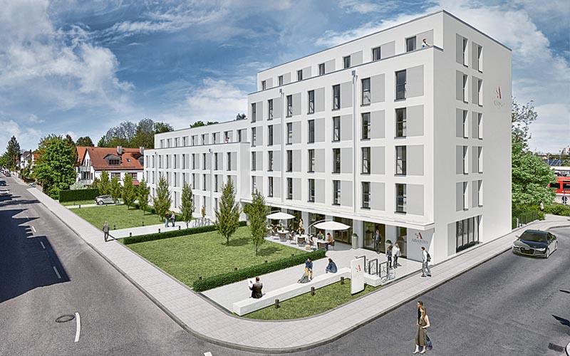 3d Visualisierung Abasto Hotel