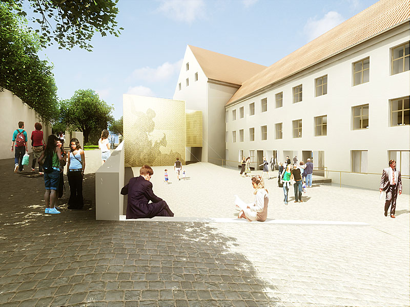 Wettbewerbsvisualisierung Landshut