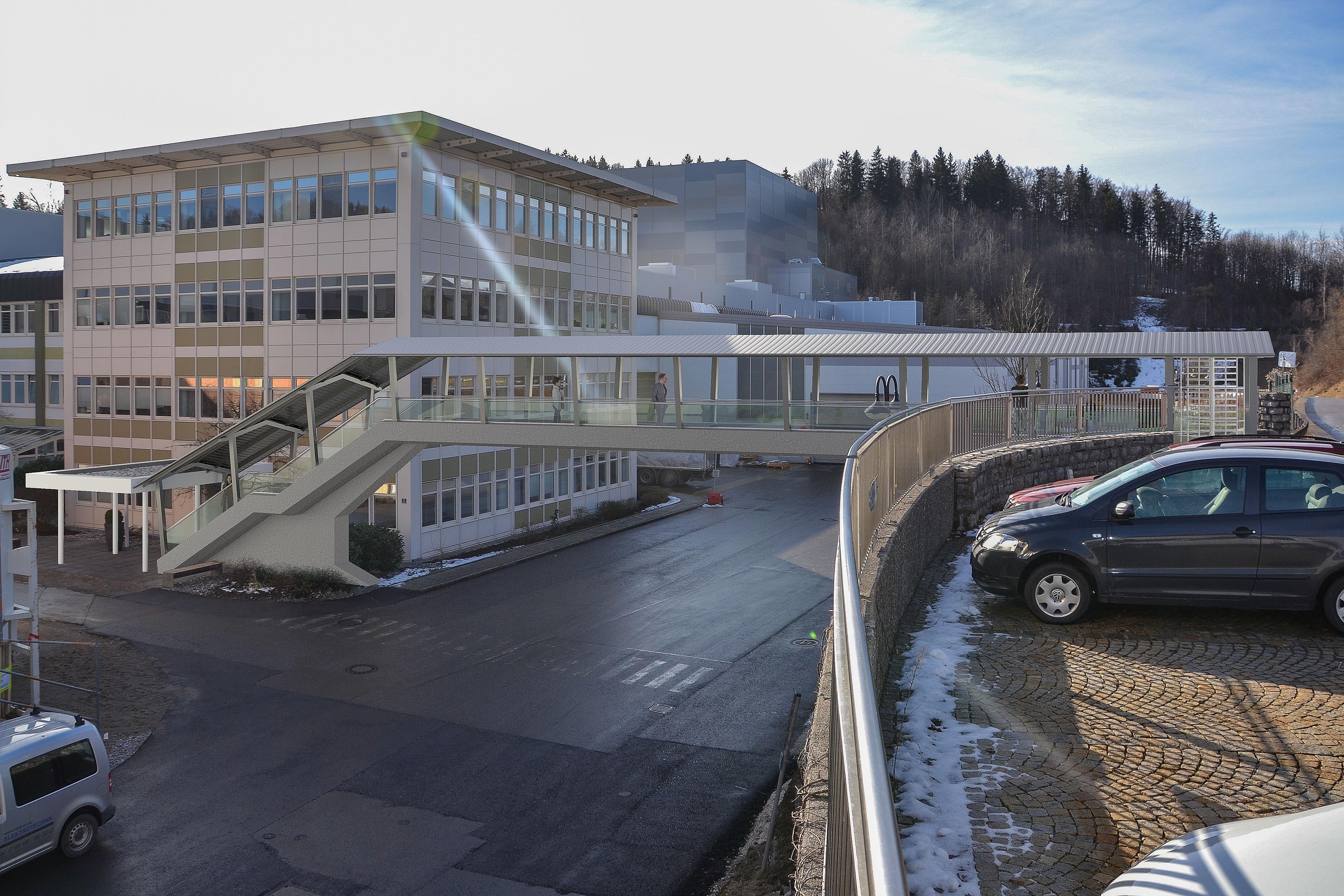 3d Visualisierung Brücke