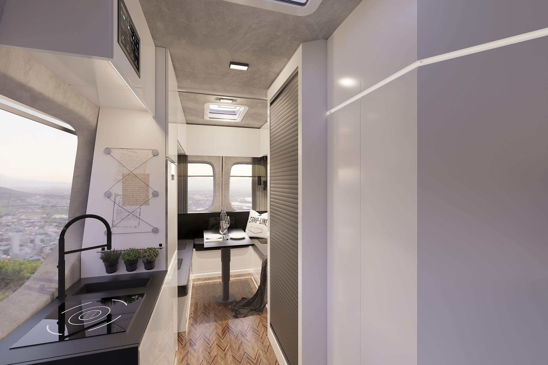 Visualiserung Campline Küchenzeile