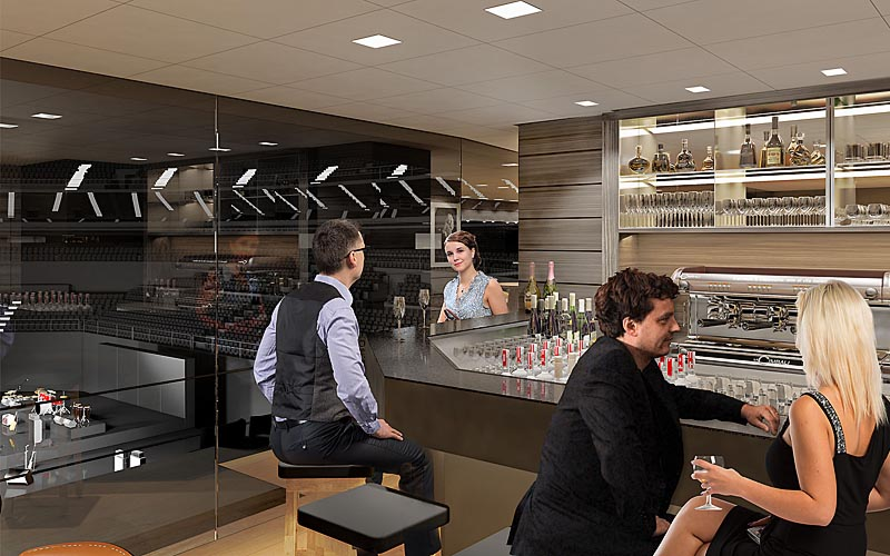 Visualisierung Circle Lounge Lanxess
