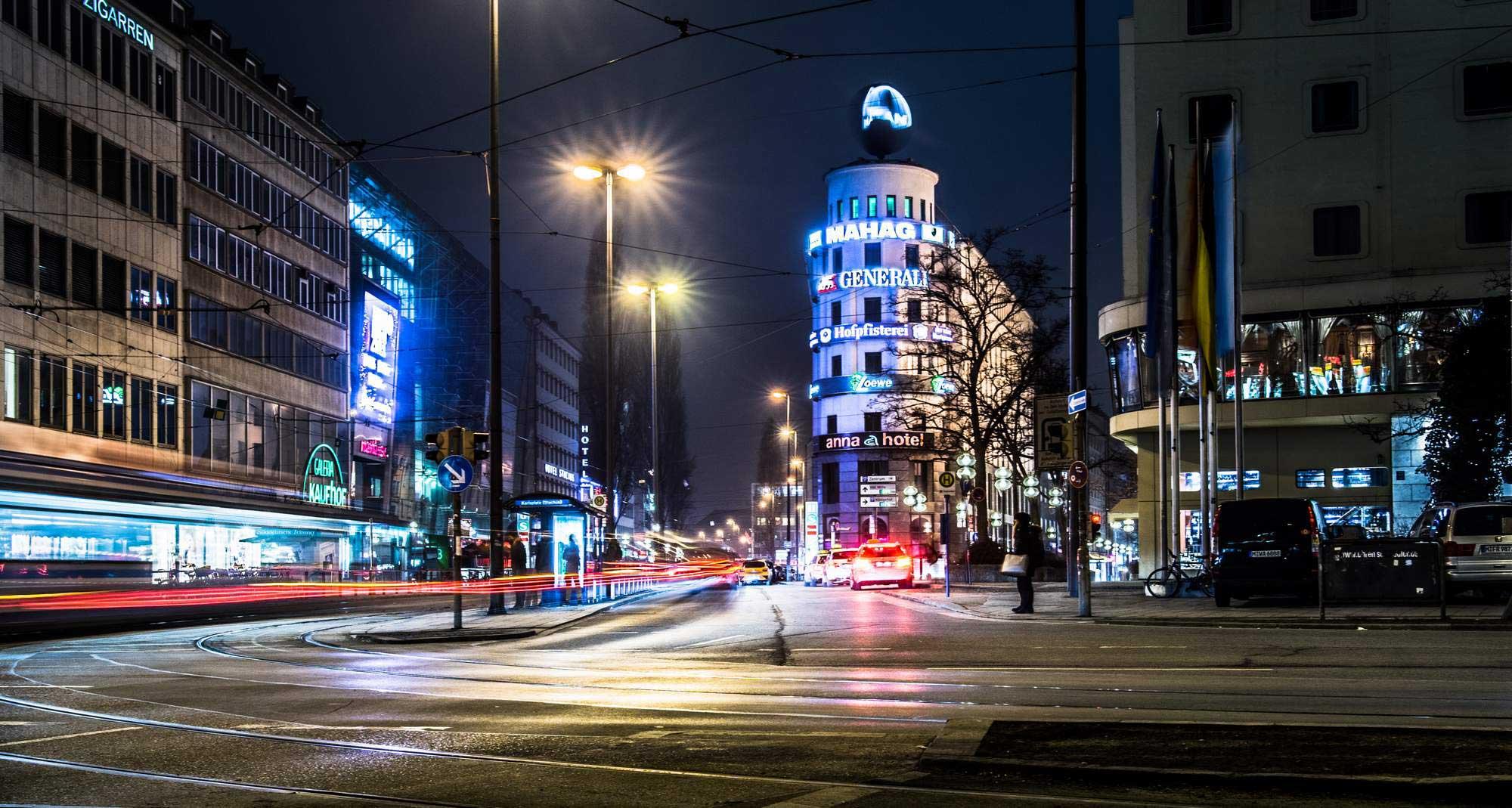 Architekturfoto urban Stachus, München