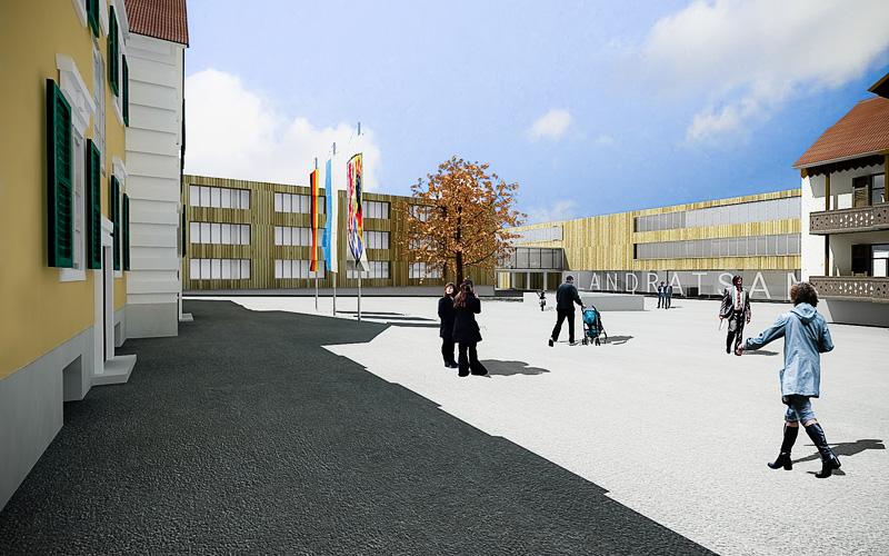 Visualisierung Wettbewerb Garmisch