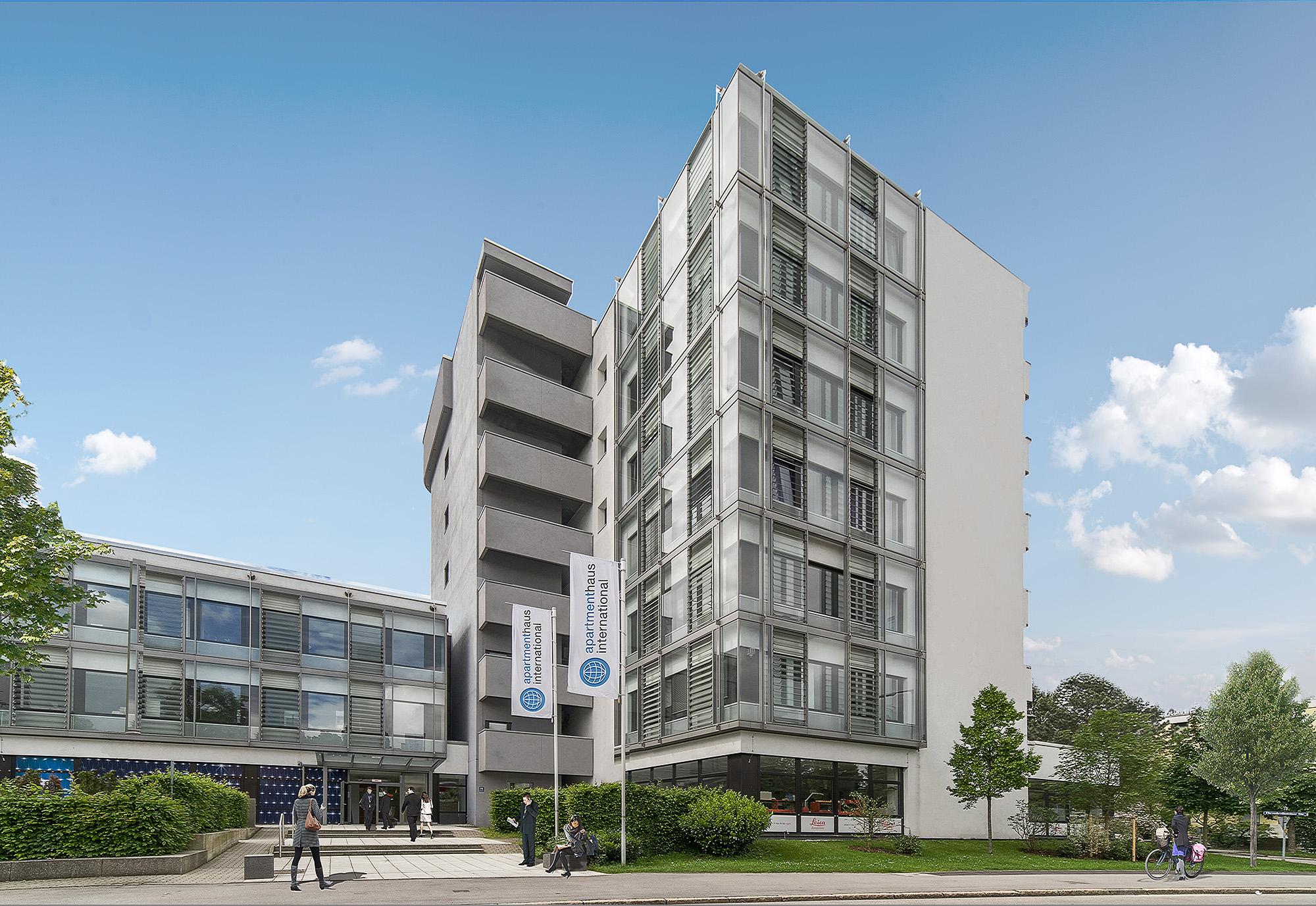 Fotoserie Architektur Appartmenthouse