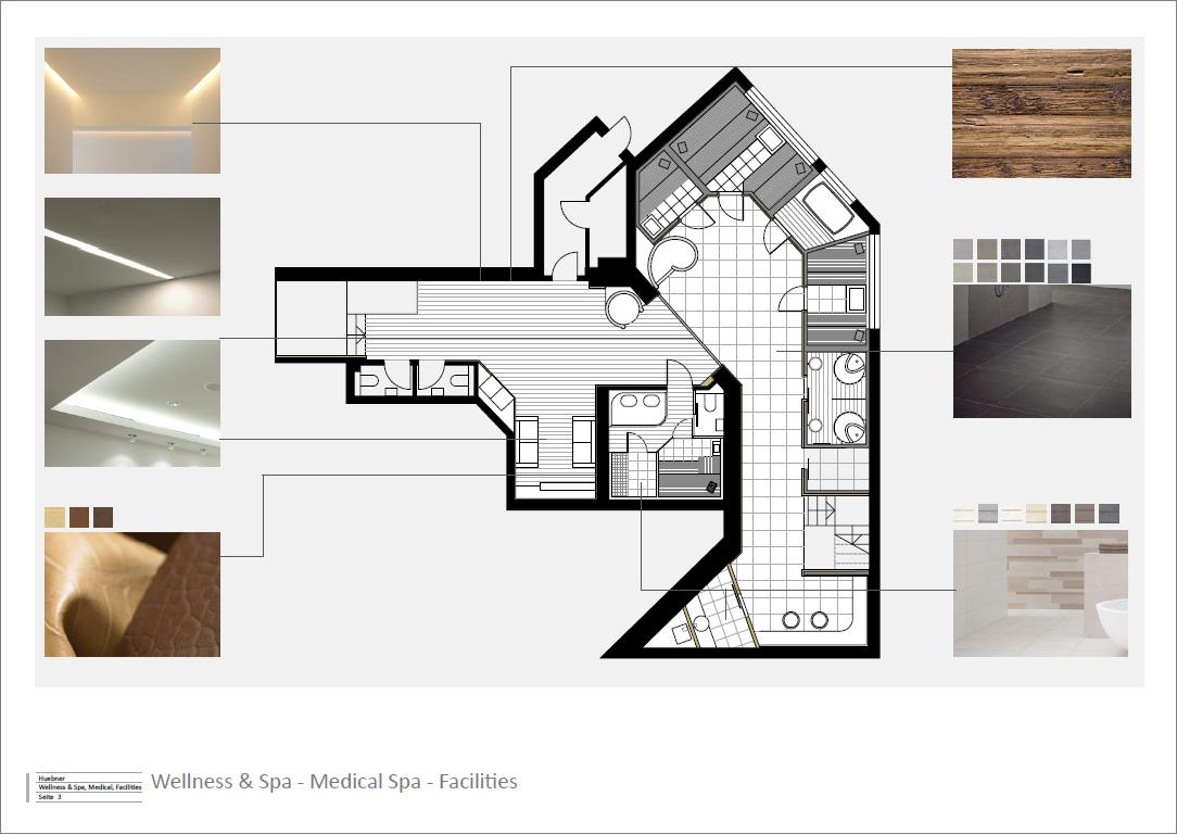 3d Visualisierung Spa Sauna