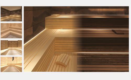 Produktvisualisierung Sauna