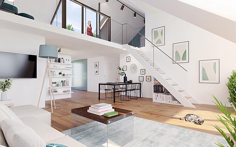 architekturvisualisierung m nchen vr 3d visualisierung rendering. Black Bedroom Furniture Sets. Home Design Ideas