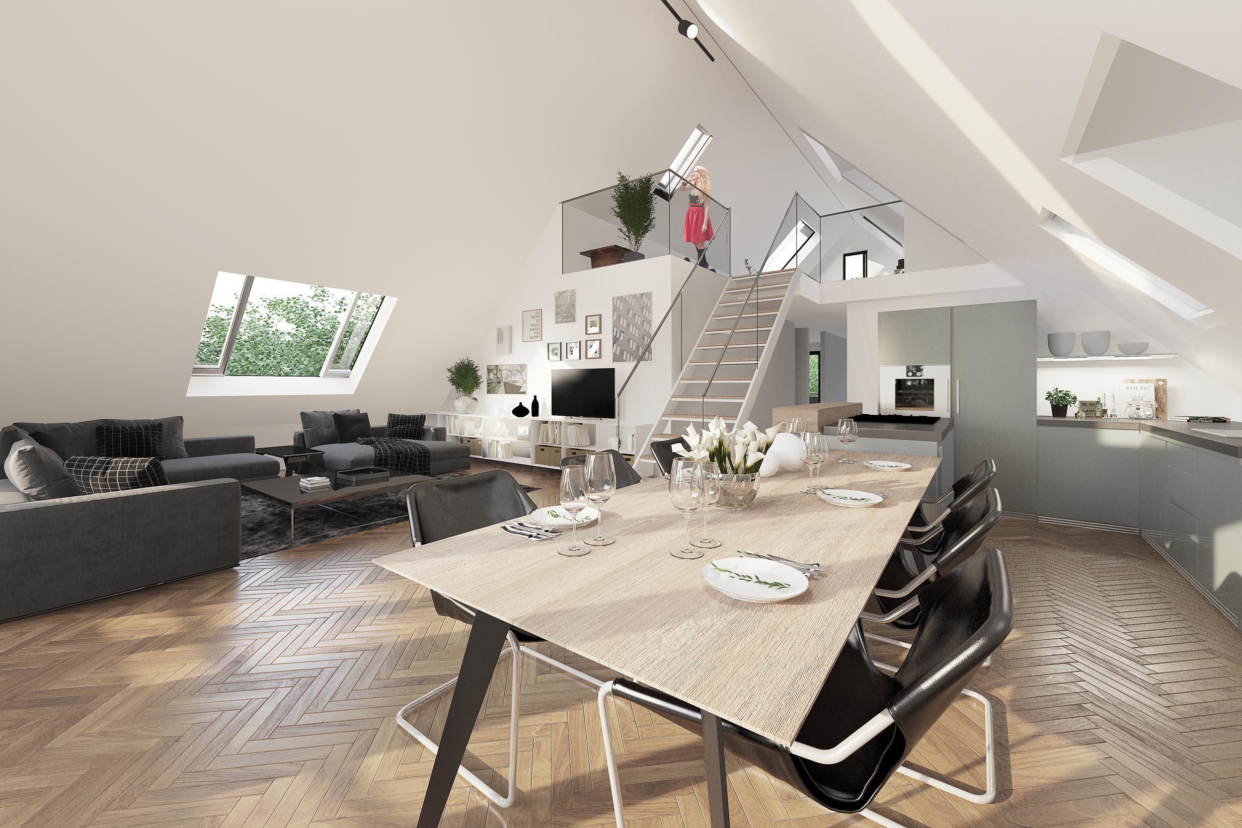 3d Visualisierung Interior Kornwegerstr