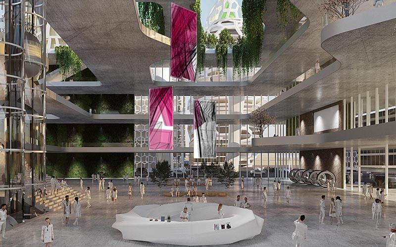 Visualisierung Futureworld Tower