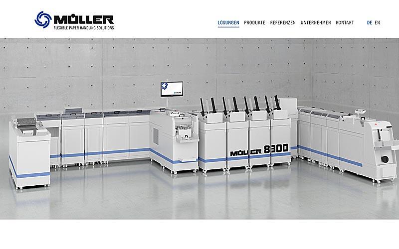 Visualisierung Müller 8300