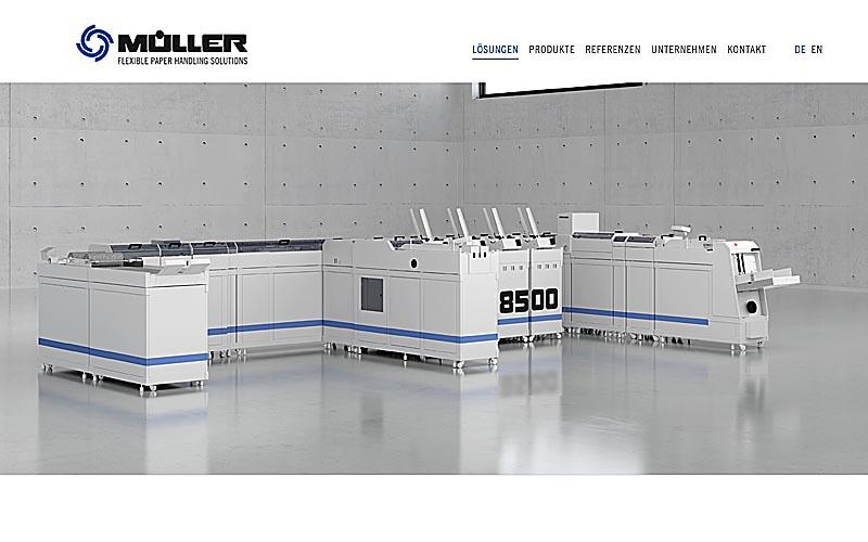 Visualisierung Müller 8500