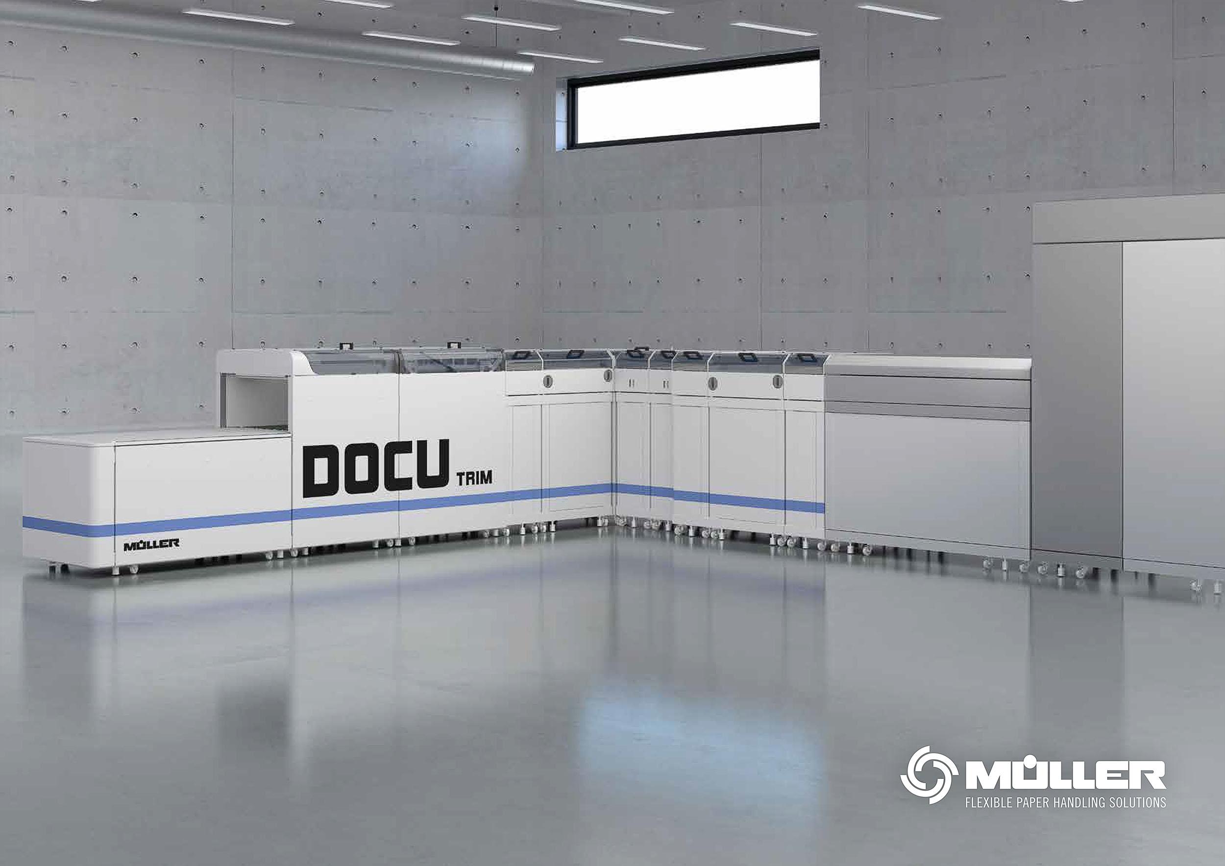Produktvisualisierung Müller Docutrim
