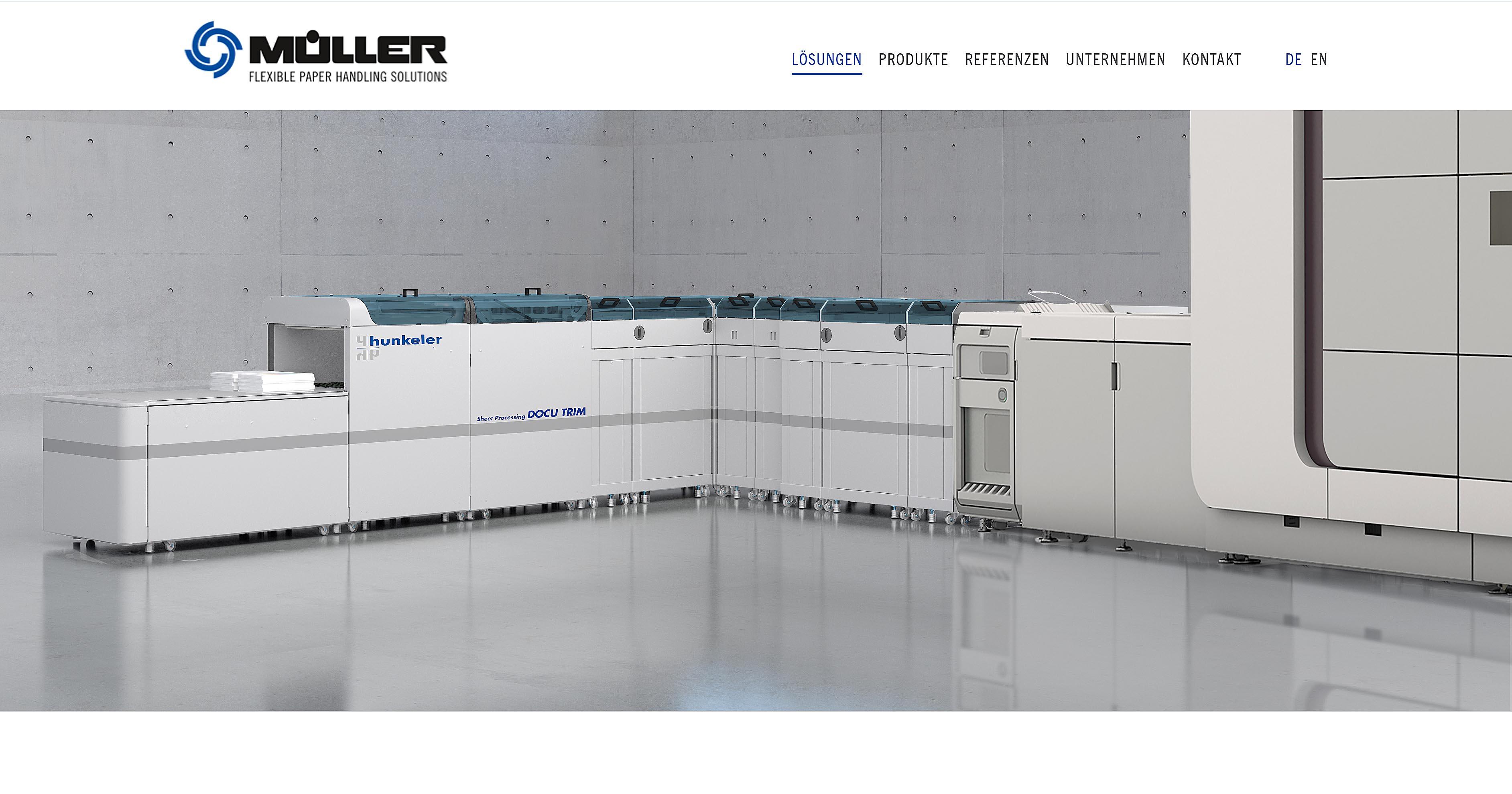Produktvisualisierung Müller Apparatebau Docutrim