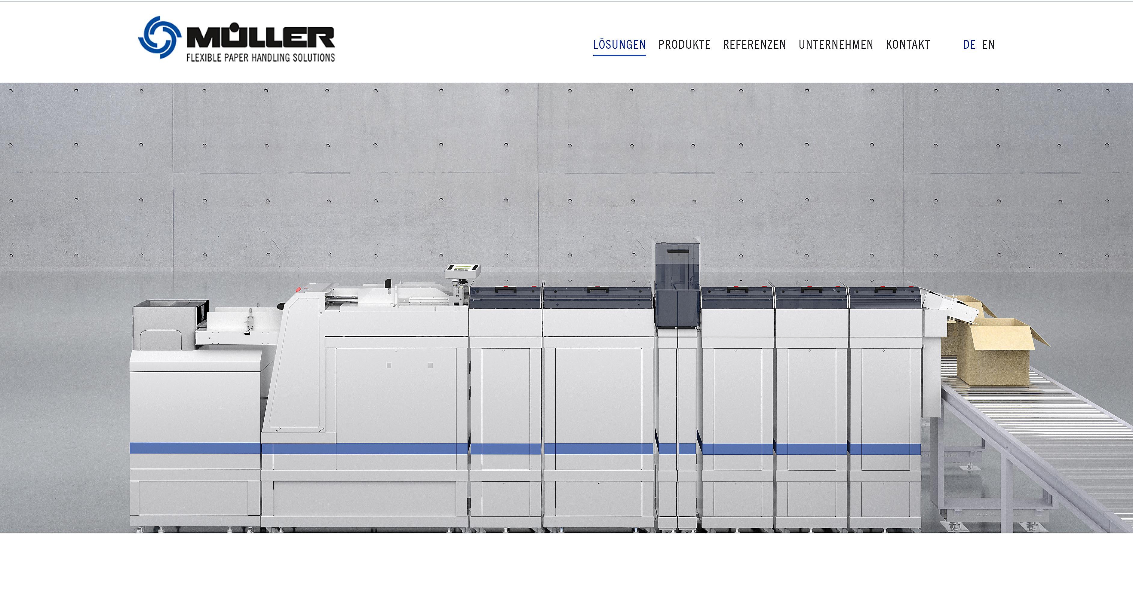 Produktvisualisierung Müller Apparatebau Paperdrive