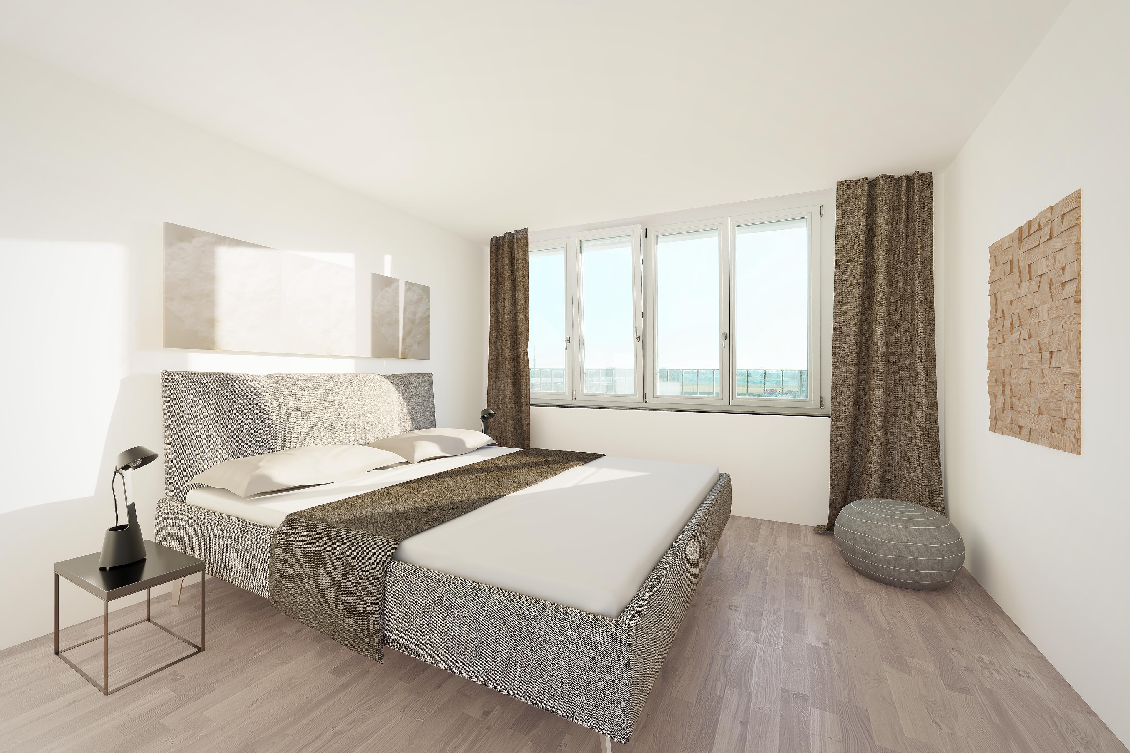 3d Visualisierung Schlafzimmer Pasing