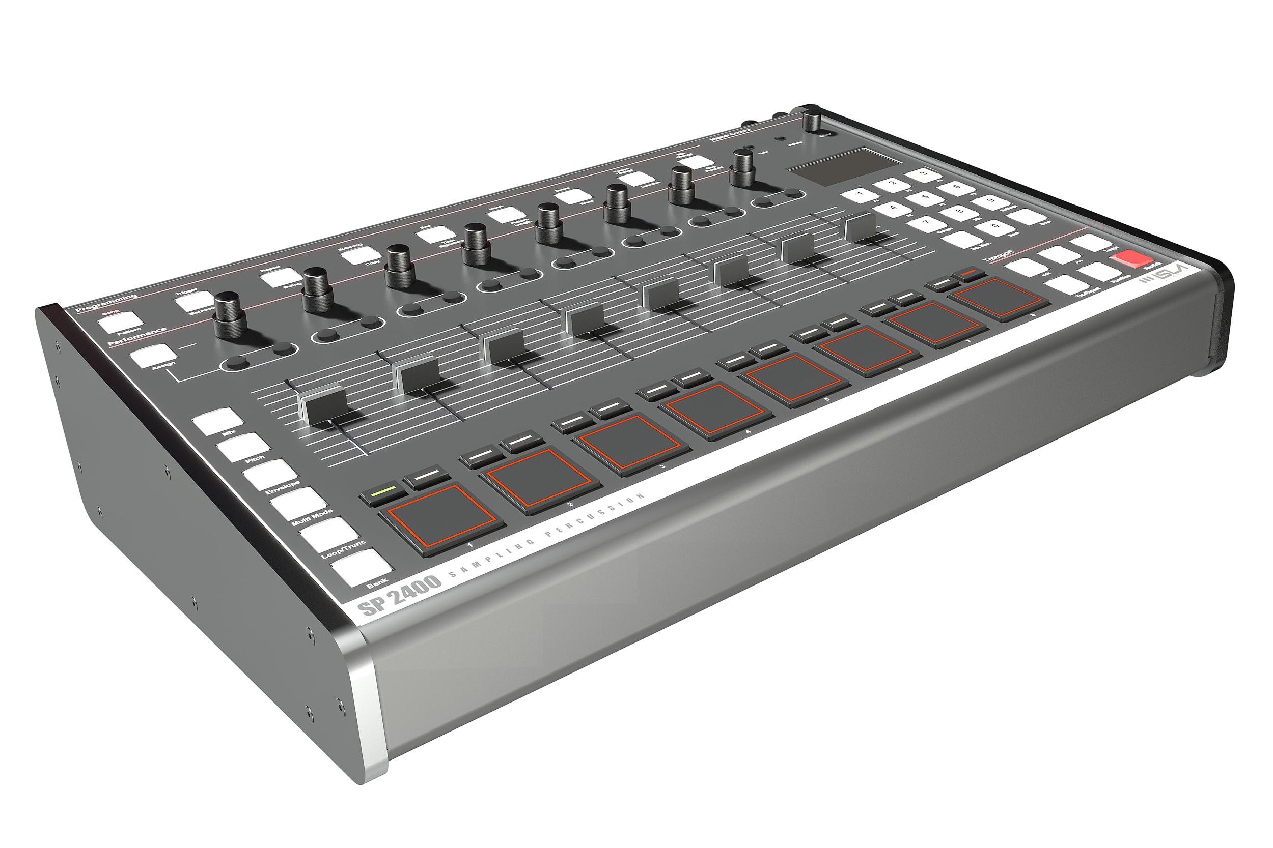 Produktvisualisierung SP2400, Isla Instruments