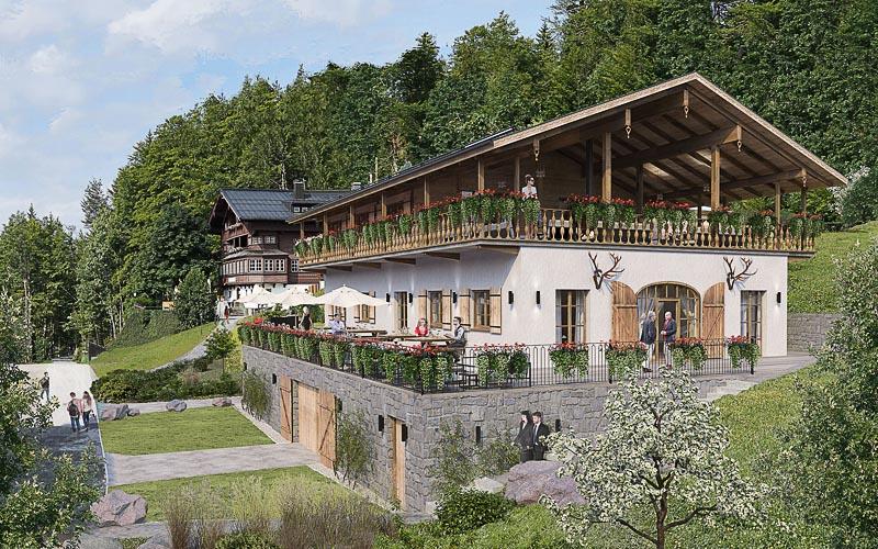Hotelvisualisierung Sudelfeld