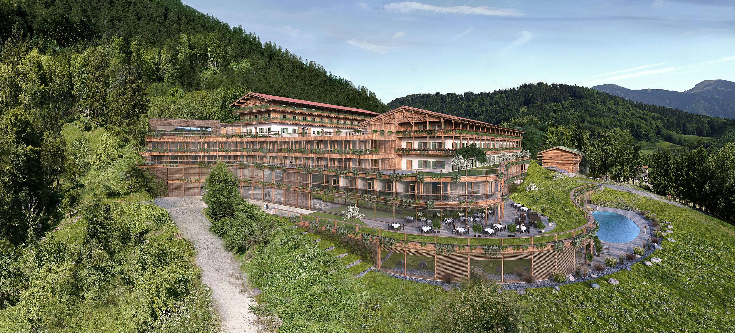 Architekturvisualisierung Westerhof Tegernsee