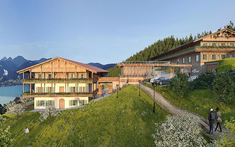 Architekturvisualisierung Hotel Westerhof