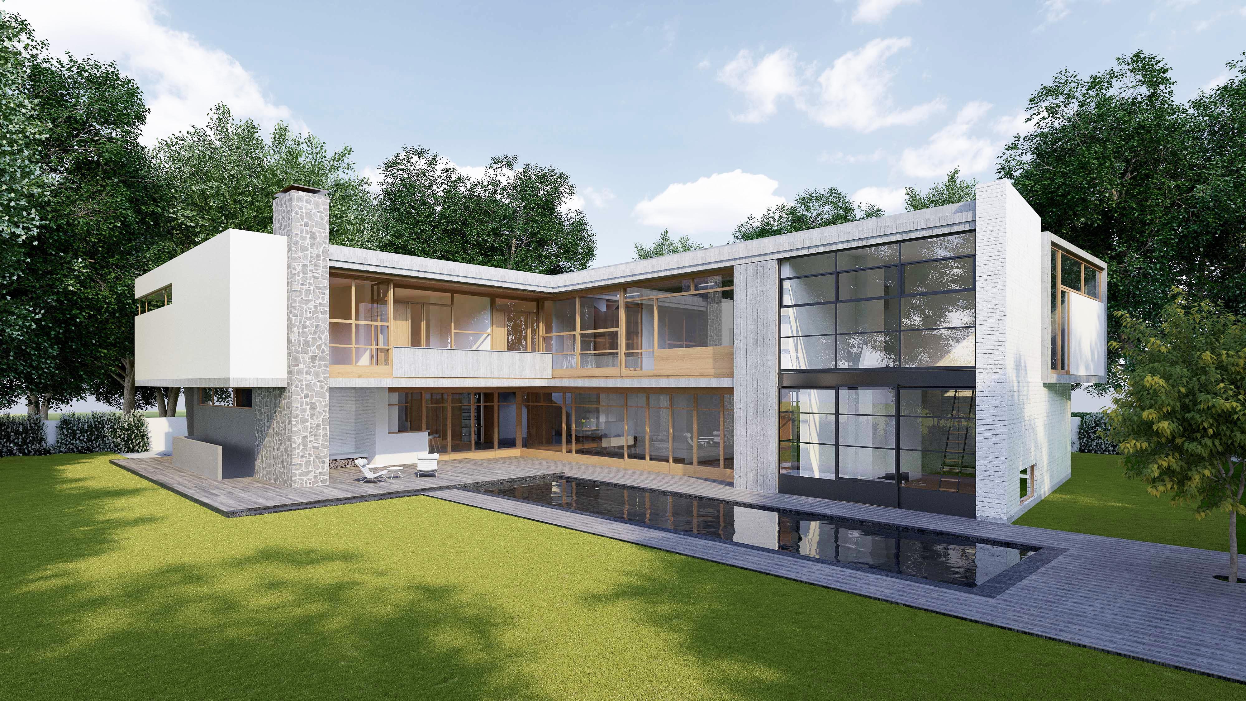 3d Visualisierung Villa München