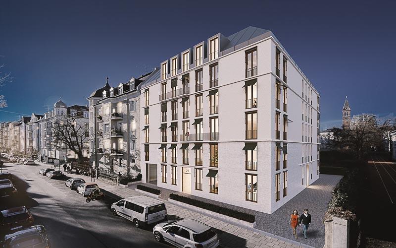 Architektur Rendering Schwabing