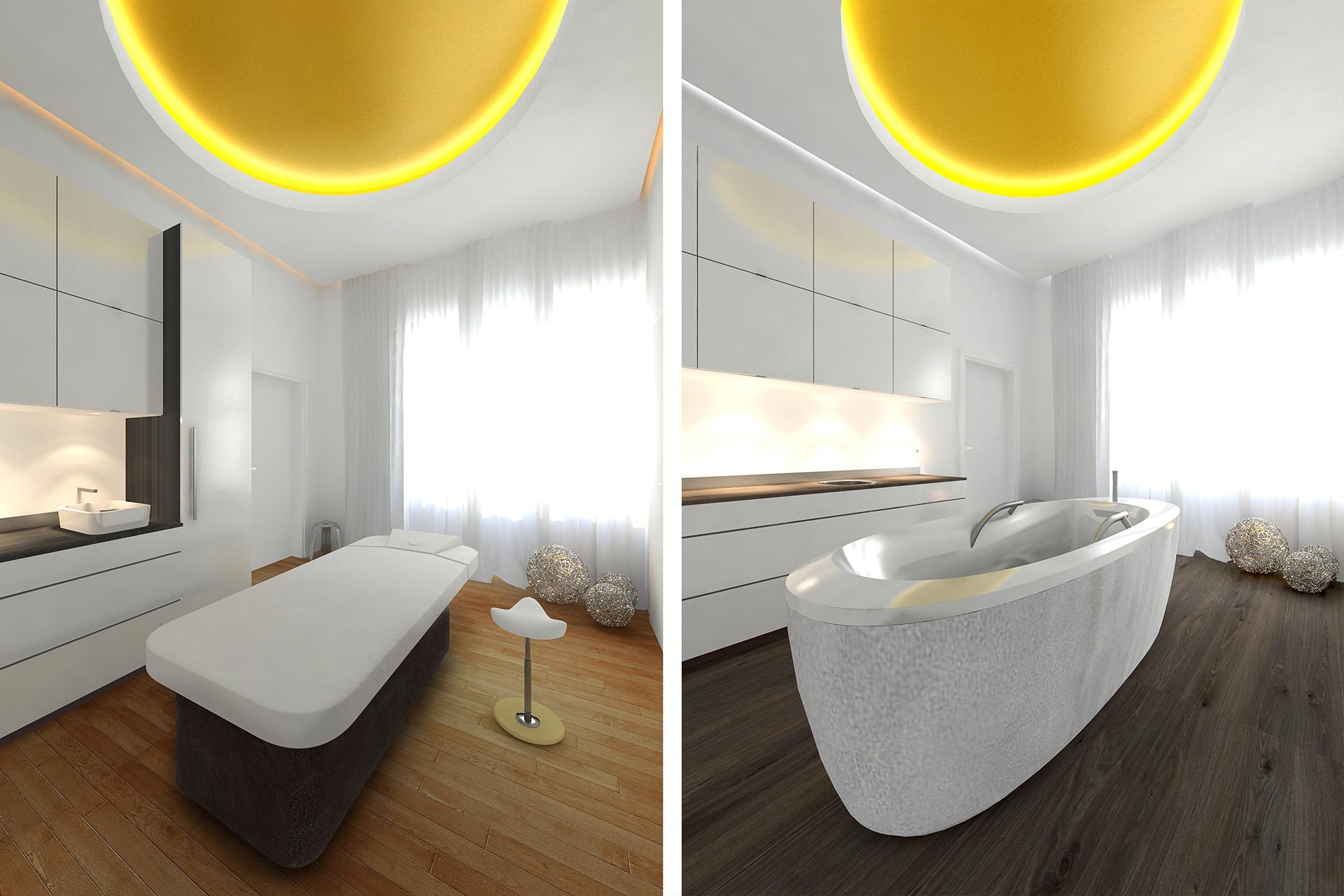 Produkt Visualisierung Medical Spa