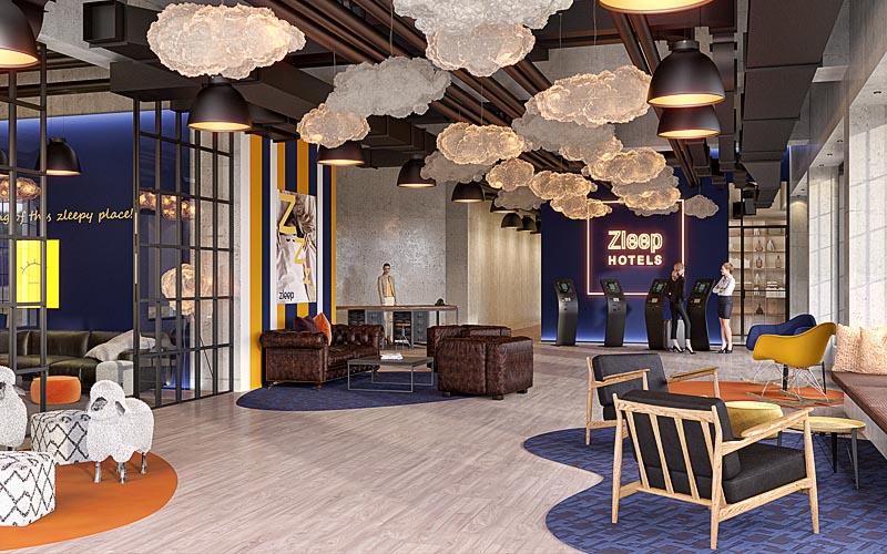 3d Visualisierung Hotel